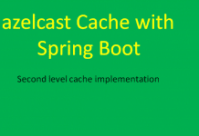 Hazelcast Cache Spring Boot Example