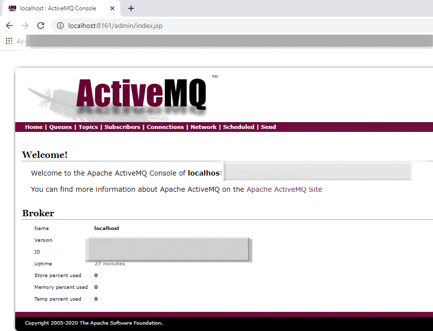 Spring Boot JMS ActiveMQ Producer Example