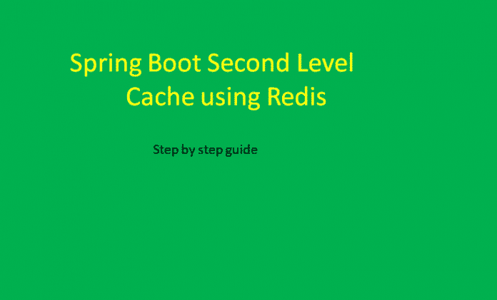Spring Boot Redis Cache Example
